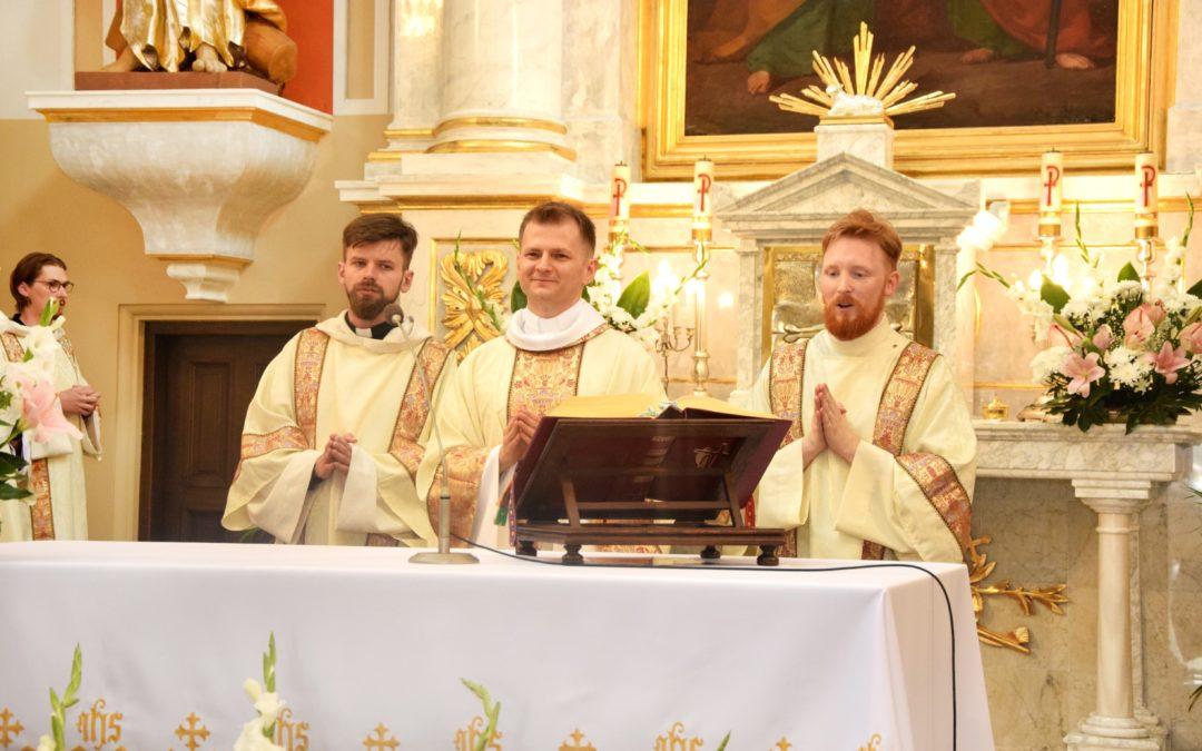 Prymicyjna Msza Św. Ojca Pawła Gołaszewkiego