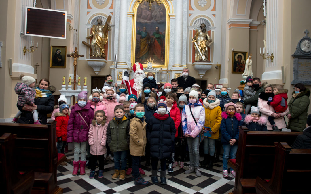 św. Mikołaj w naszej parafii !!!
